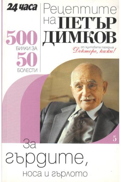 Рецептите на Петър Димков за гърдите, носа и гърлото