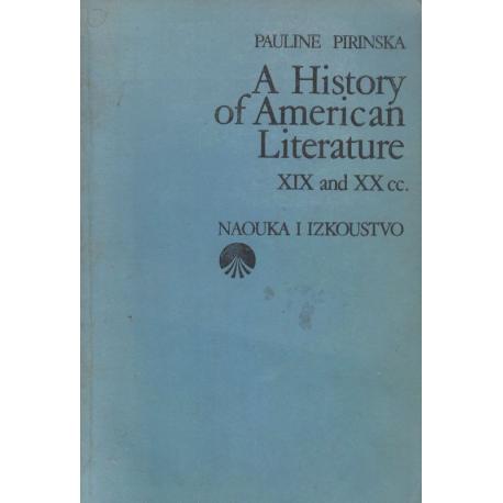 А History of American Literature